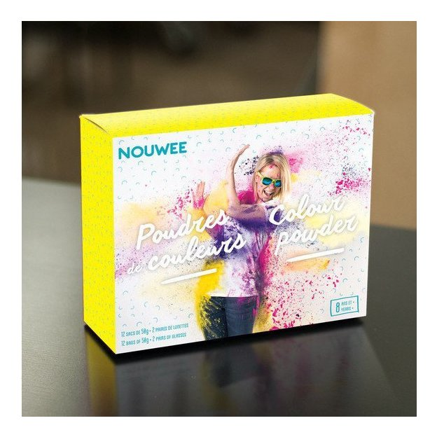 Farbpulver Set - Nouwee Colour Powder Kit