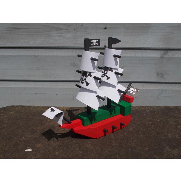 Geschenkbox - Piratenschiff