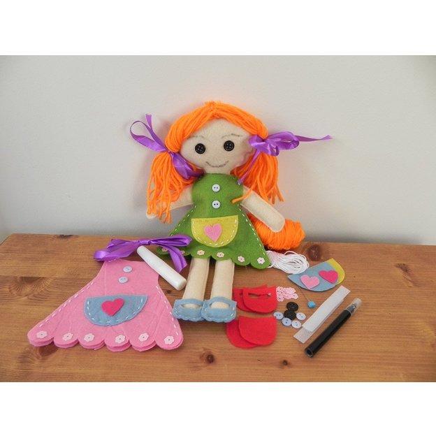 Geschenkbox - Make your own rag doll