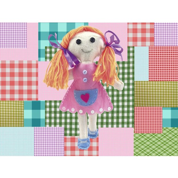 Geschenkbox - Make your own rag doll
