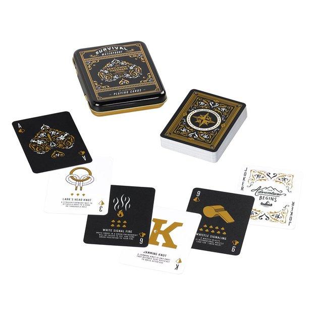 Spielkarten mit Überlebenstipps von Gentlemen's Hardware