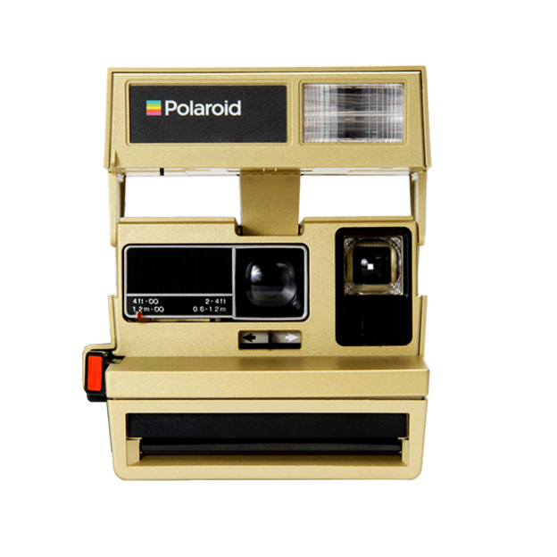 Polaroid Instant 600 Kamera Gold