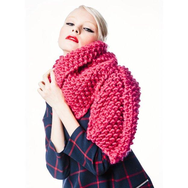 Echarpe à tricoter DIY Cucho de We Are Knitters