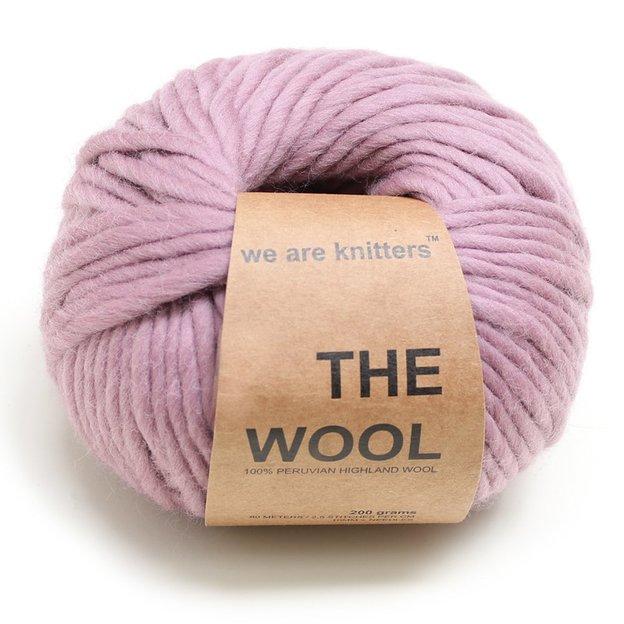 Echarpe à tricoter DIY Cucho de We Are Knitters Mauve