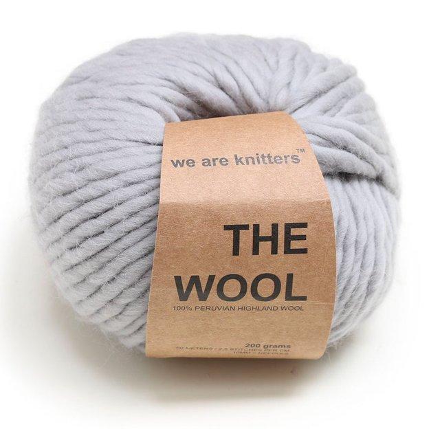 Strickset Cucho Schal von We Are Knitters Grey