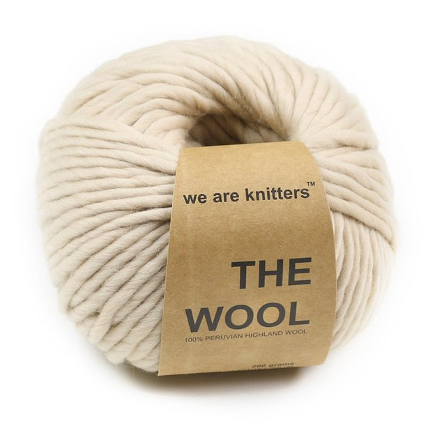 Strickset Nick Decke von We Are Knitters Sand
