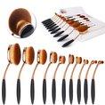 Make-up Pinsel Set Oval Brush 10-teilig