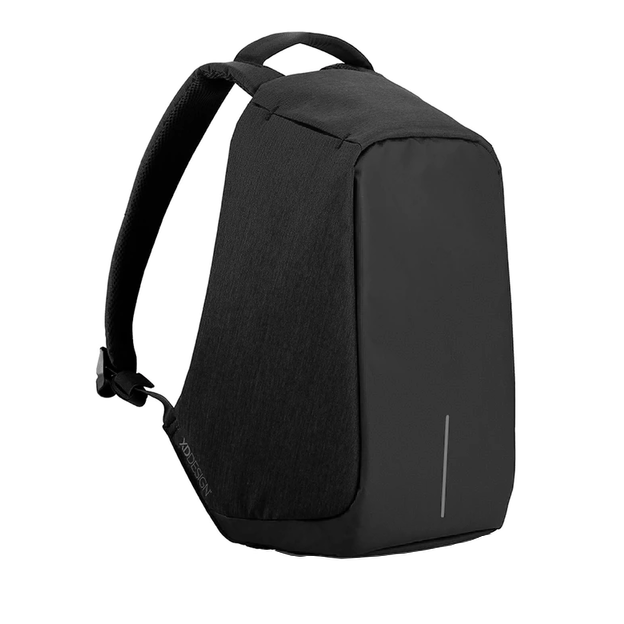 Bobby Anti-Diebstahl Rucksack Original schwarz