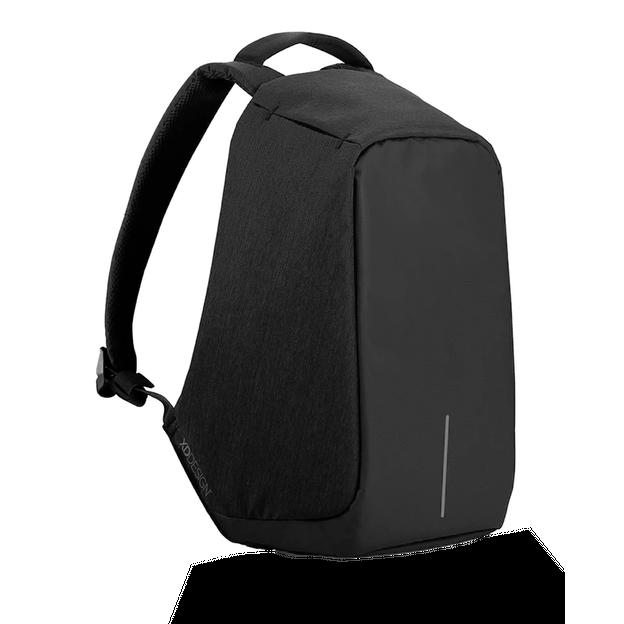 Bobby Anti-Diebstahl Rucksack schwarz