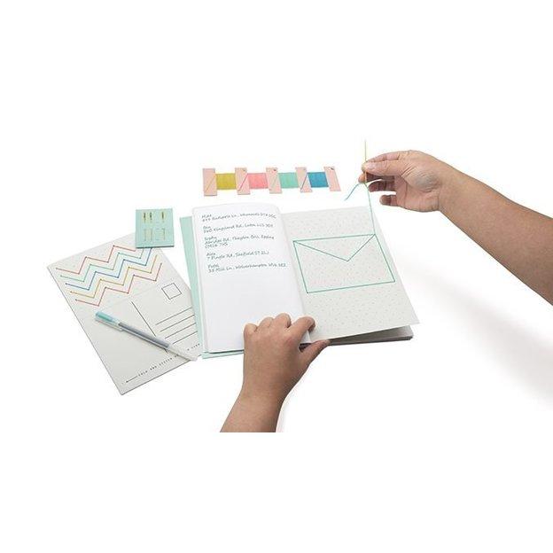 Stitch Up Set - Kreuzstich Vorlagen Buch DIY