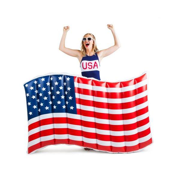 Luftmatratze Amerikanische Flagge