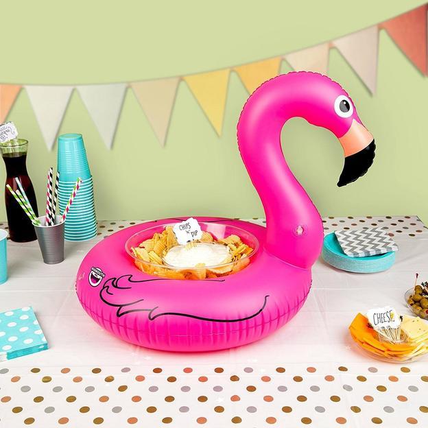Aufblasbare Servierplatte Flamingo