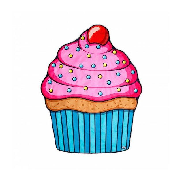 Strandtuch XXL Cupcake