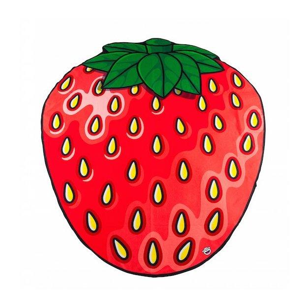 Strandtuch XXL Erdbeere
