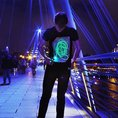 T-shirt interactif Glow