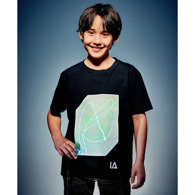 Interaktives Glow T-Shirt für Kinder