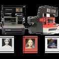 Polaroid Instant 600 Kamera Gold & 80s Style
