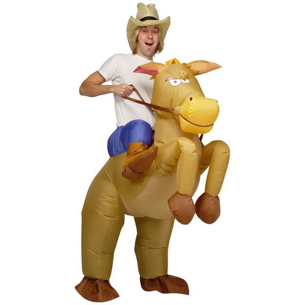Aufblasbares Pferdekostüm