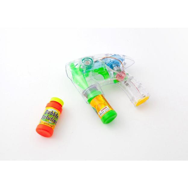 Pistolet à bulles de savon avec sons et lumières
