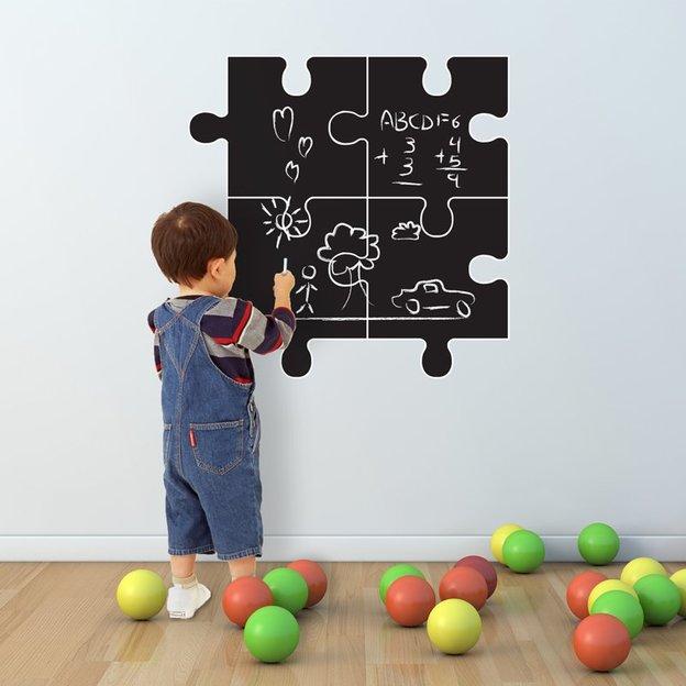 Kreidetafel Wandtattoo für das Kinderzimmer