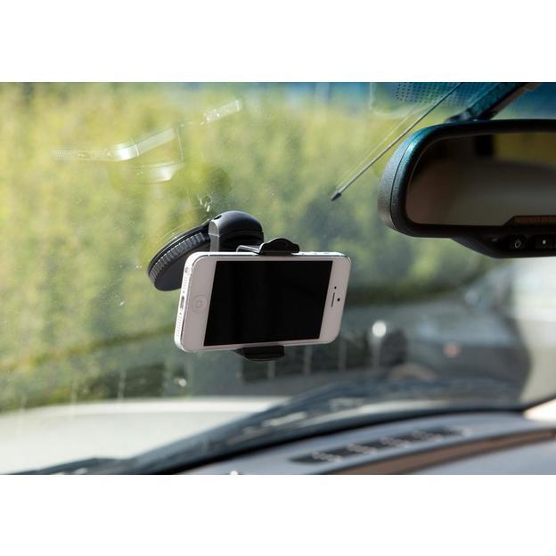 Universal Autohalterung für Smartphones