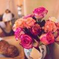 Romantisches Brunchcatering für Geniesser