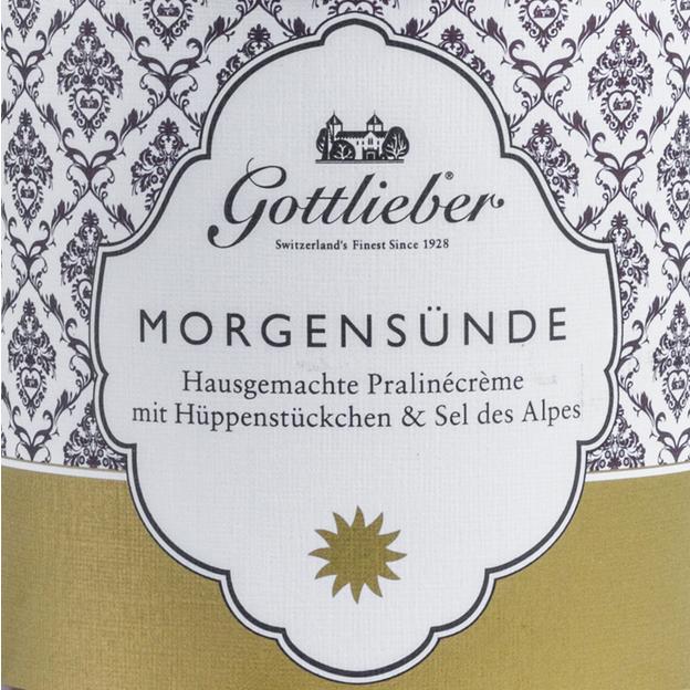 Pâte à tartiner Gottlieber Morgensünde