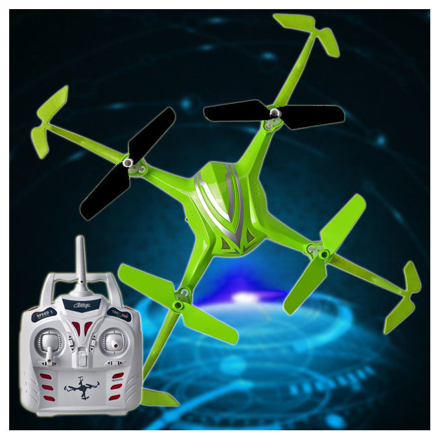 Quadrocopter Up-Side-Down 360 Grad mit Wechsel-Akku
