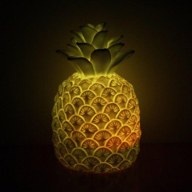 Stimmungslicht Ananas mit Farbwechsel