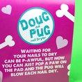 Nageltrockner Puste-Hund Mops