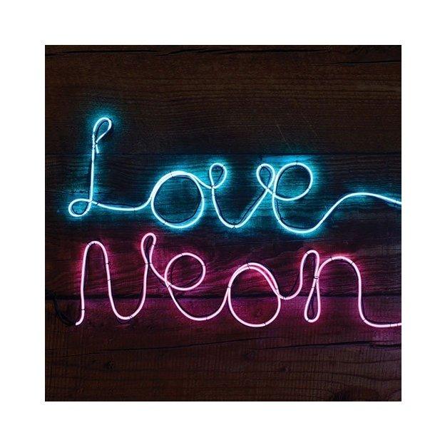 Neon Leuchtschrift DIY Pink