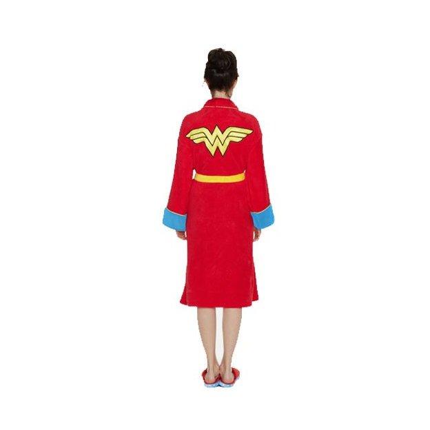 Bademantel Superhelden