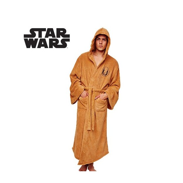 Peignoir Star Wars Jedi avec capuche