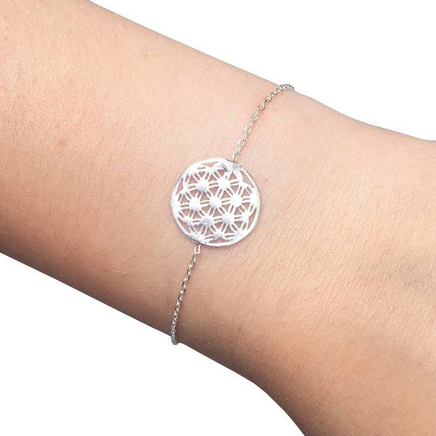 TARA STYLE Armkette Blume des Lebens