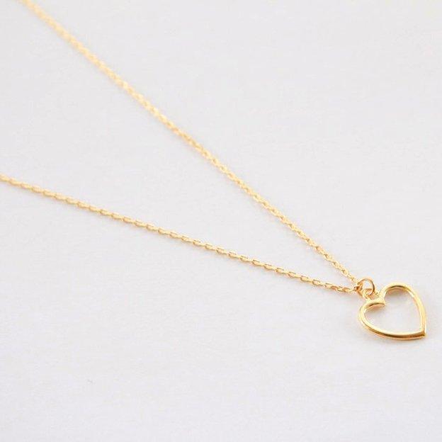 TARA STYLE Halskette Heart Gold