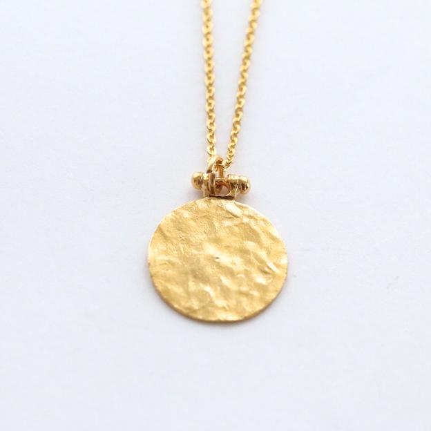 TARA STYLE Halskette Coin 80cm Gold