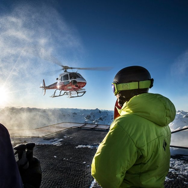Heliskiing Fuorcla Chamuotsch