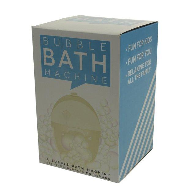 Seifen-Blubbermaschine für die Badewanne