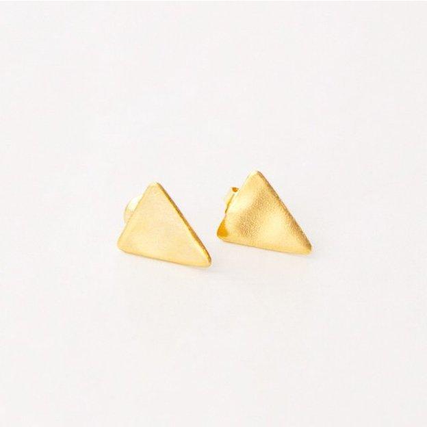 TARA STYLE Ohrstecker Triangle