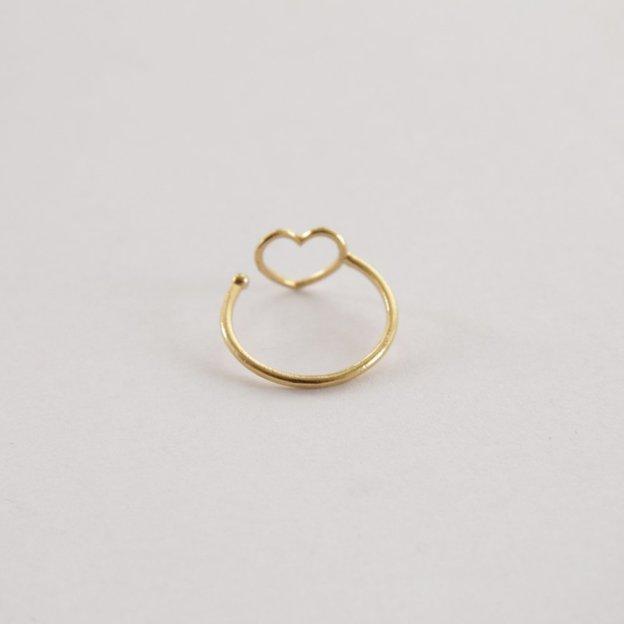 TARA STYLE Fingerring Love Gold