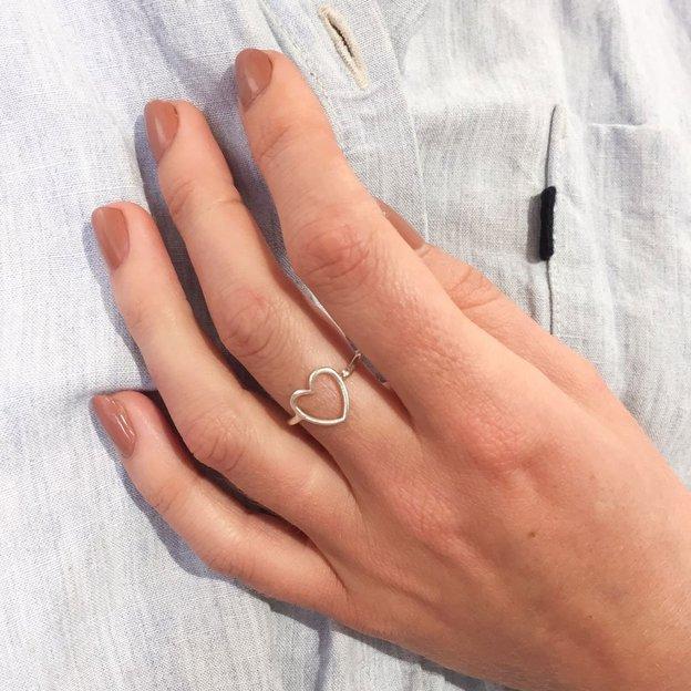TARA STYLE Fingerring Love Silber