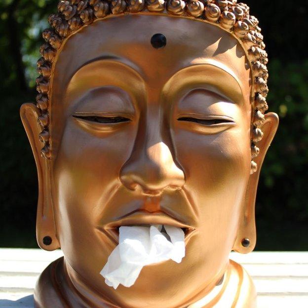 Distributeur de mouchoirs insolite Moaï, Panda, Bouddha, Tiki