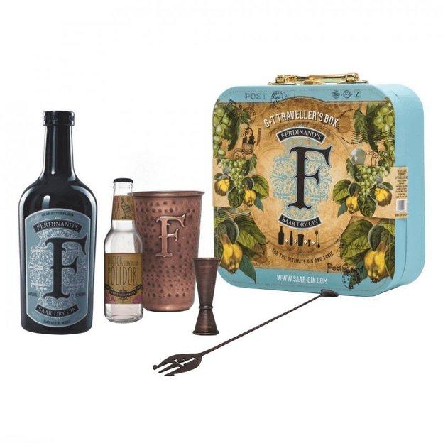 Ferdinand's Traveller Set, Dry Gin, 20cl, im Koffer