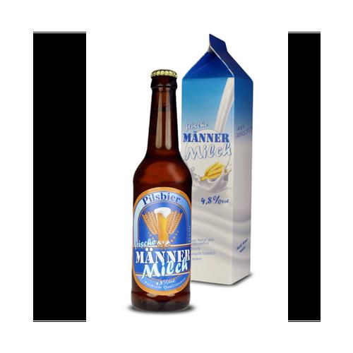 Image of Bierflasche 0.33 l im Tetra Pak - Männermilch