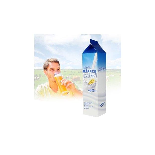 Bierflasche 0.33 l im Tetra Pak - Männermilch