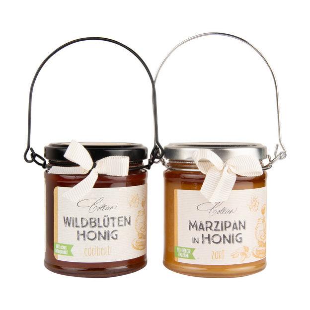 Set cadeau miel et massepain
