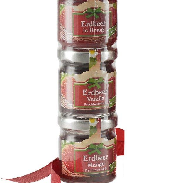 Geschenkset Erdbeer Mama Brotaufstrich & Tee