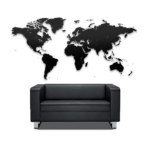 do it yourself puzzle weltkarte aus holz. Black Bedroom Furniture Sets. Home Design Ideas