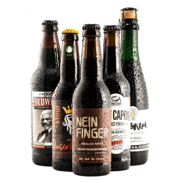 Box Bières noires suisses Dark ProBier