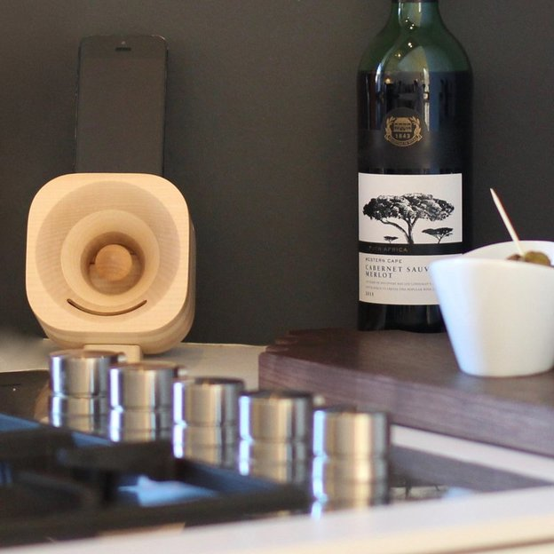 Amplificateur de son en bois pour iPhone
